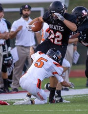 Sal Patierno ran 12 times for 112 yards and a touchdown in Pinckney's 34-6 victory over Ypsilanti.
