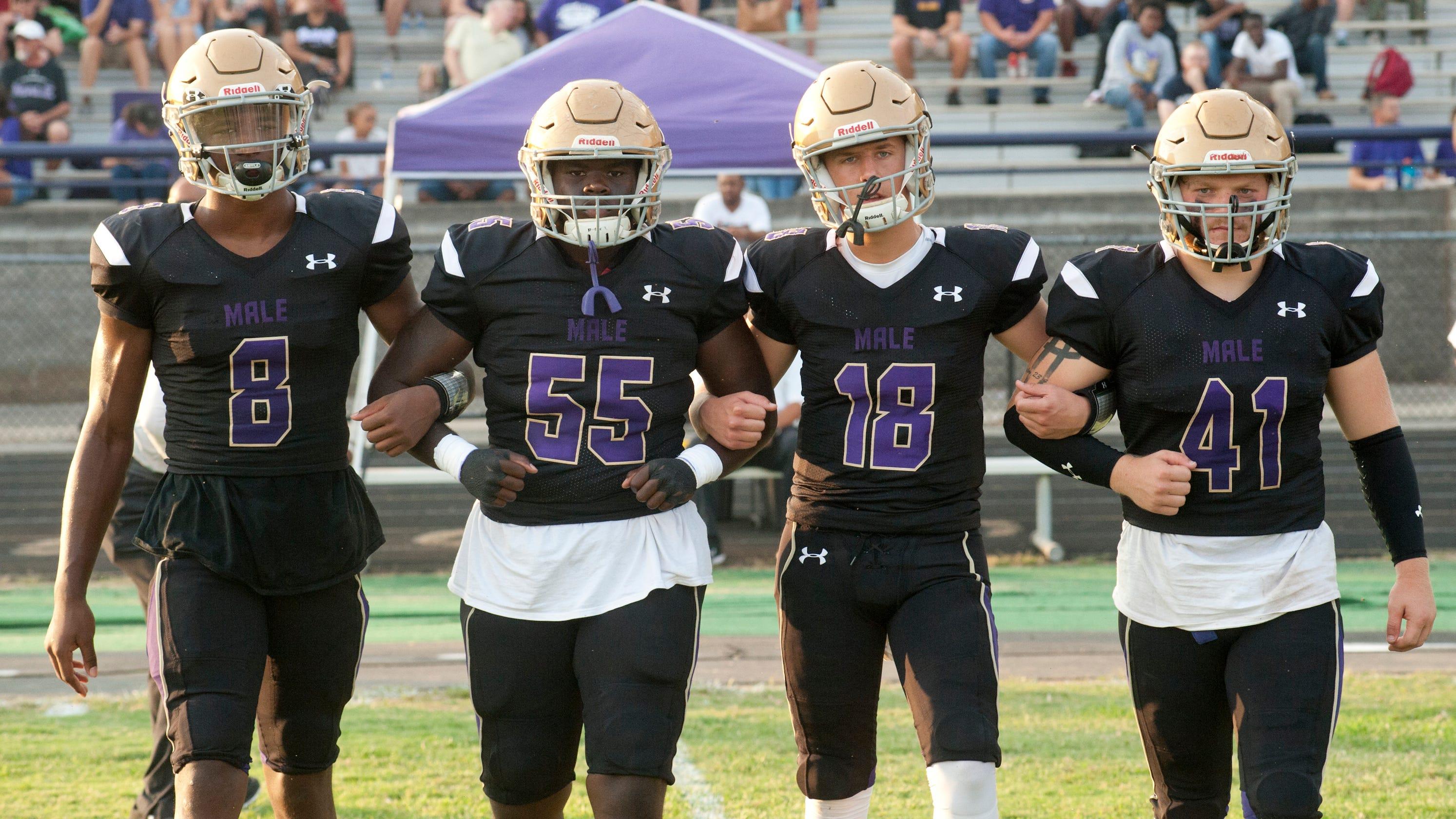 Kentucky high school football rankings have Male, Trinity ...
