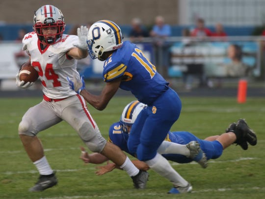 Shelby's Owen Fisher may be the best running back returning in Richland County and all of Division IV.