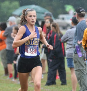 Ontario's Brienne Trumpower finished in ninth place overall during the Midwest Meet of Champions with a time of 18:59.3 on Saturday.