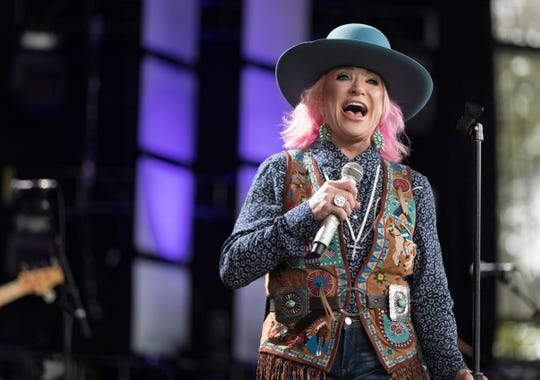 Tanya Tucker performs at Farm Aid Saturday, Sept. 21, 2019, at Alpine Valley  Music Theatre in East Troy, Wis. It was Tucker's first appearance at Farm Aid since 1985 - the first Farm Aid concert.
