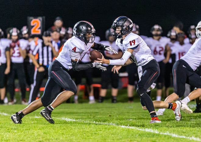 Pewaukee's Kris Johnson ran for a career-high 276 yards to lead the Pirates past Wisconsin Lutheran Friday.