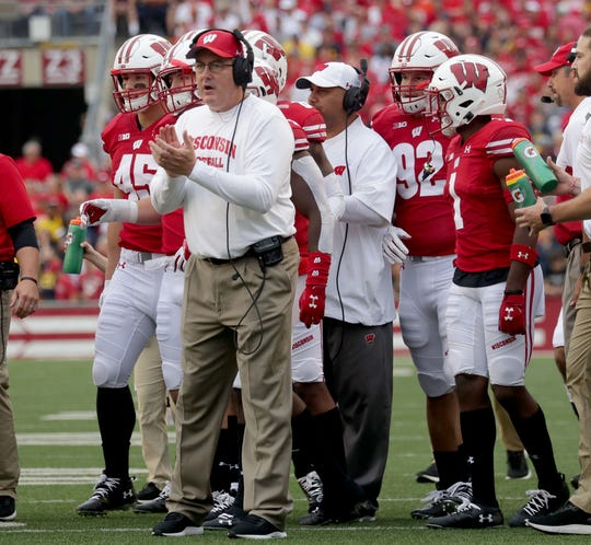 Wisconsin coach Paul Chryst has been happy to see his players returning to campus this week.