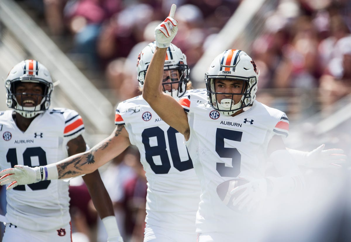 online retailer ff674 f33c6 3 takeaways from Auburn's road win over Texas A&M to open ...