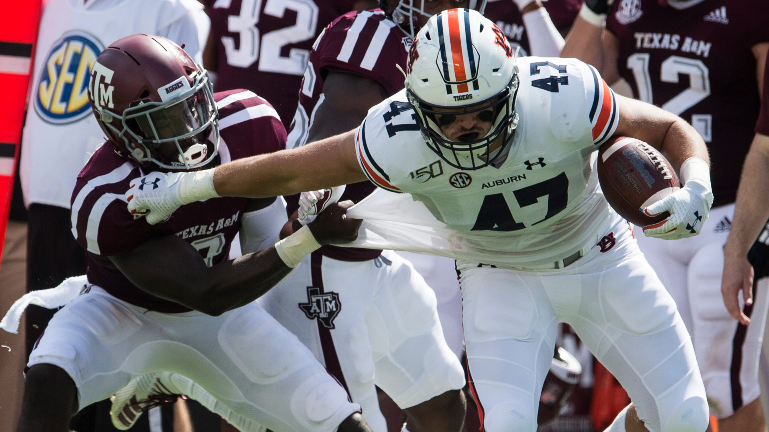 Auburn vs. Texas A&M football video highlights, score
