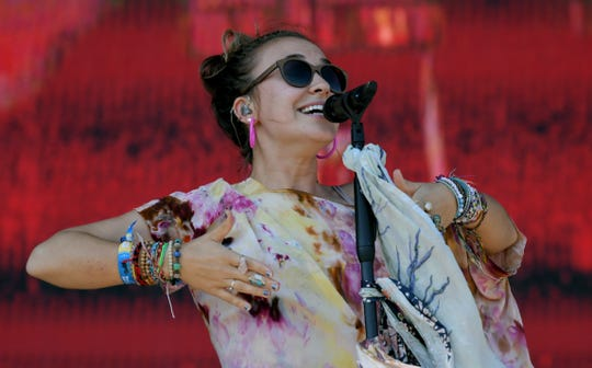 Lauren Daigle performs during the first day of the Pilgrimage Music & Cultural Festival at The Park at Harlinsdale Saturday, Sept. 21, 2019 in Franklin, Tenn.