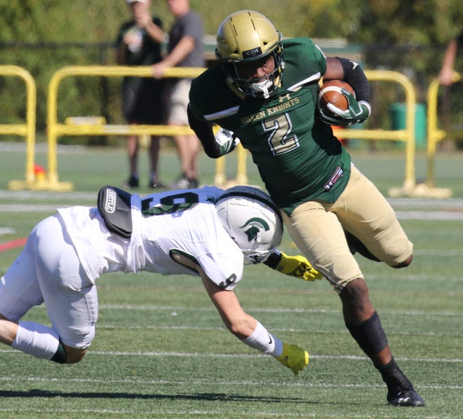 St. Joseph Regional running back Audric Estime committed to Michigan State on Sunday.