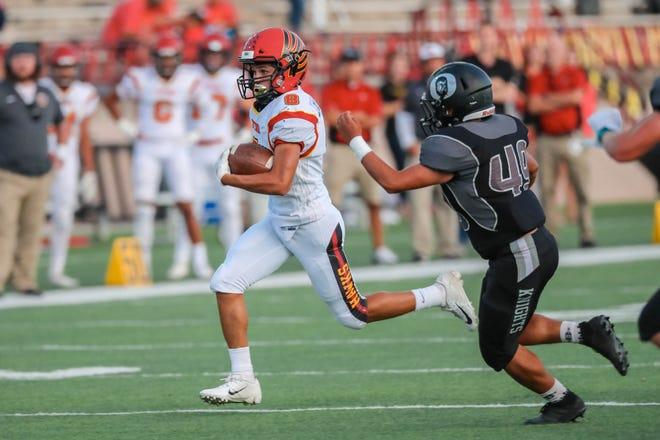 Centennial's Karsten Rueckner has been named the Las Cruces Sun-News Prep Football Hero of Week 11.