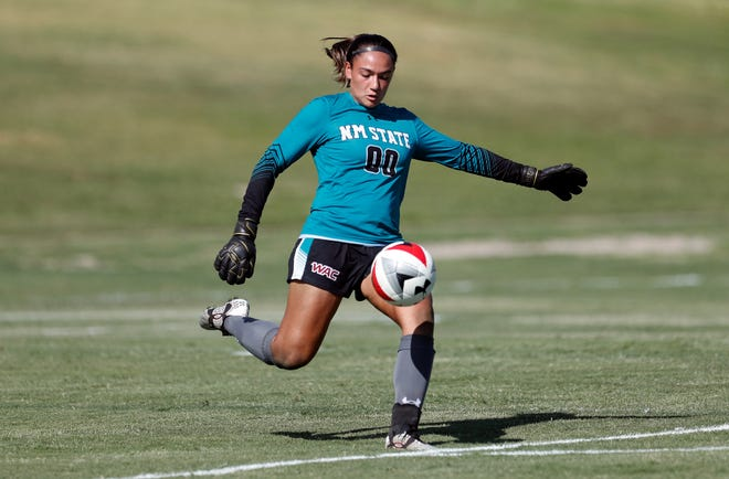 The New Mexico State women's soccer team lost 1-0 to New Mexico on Friday at the NM State Soccer Complex.