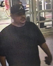 Las Cruces police believe this man keyed a marked police unit outside Walmart on Walton on Friday, Sept. 20, 2019.