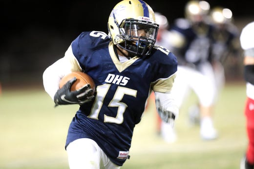 Desert Hot Springs earns first win after 34-0 rout of Desert Mirage