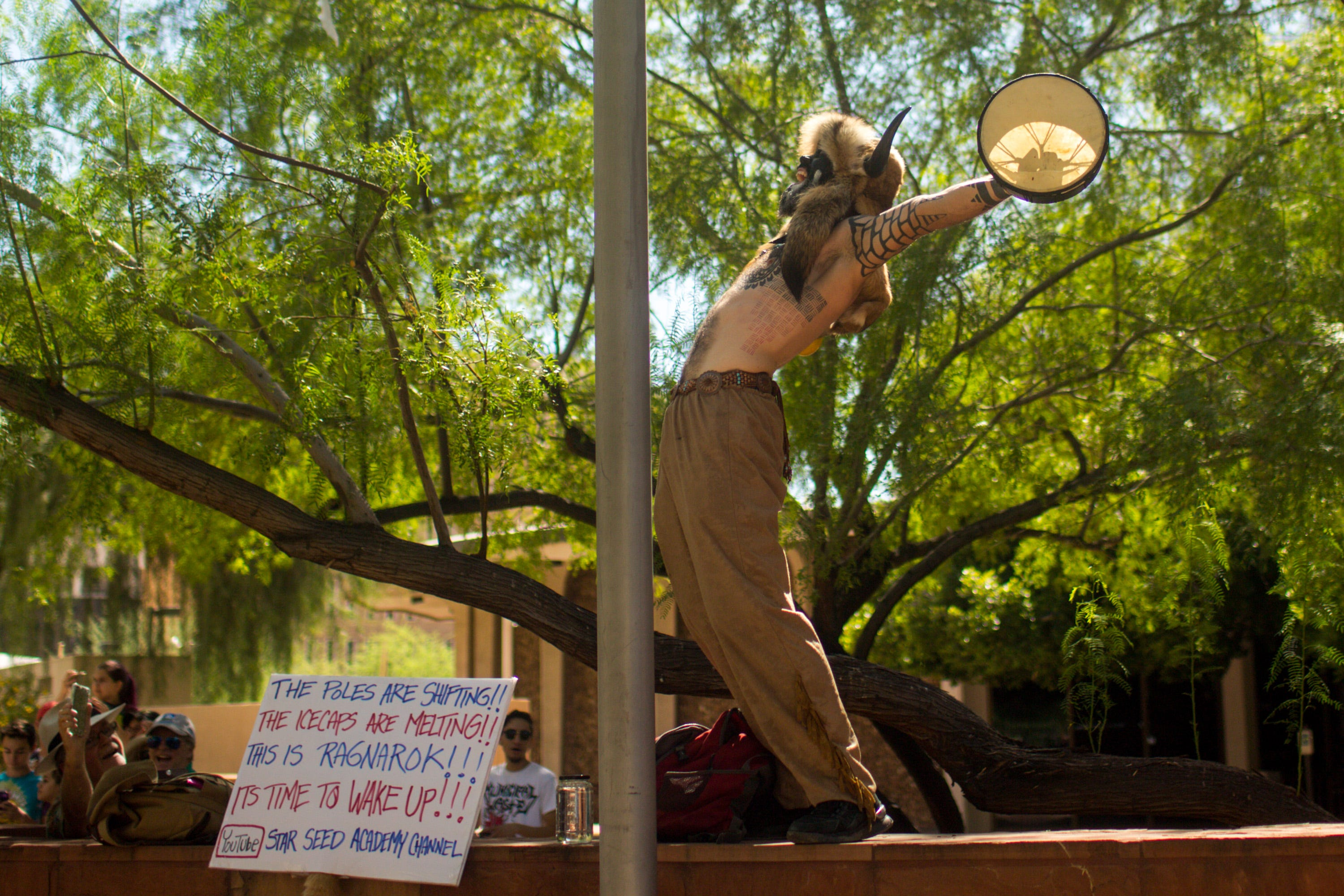 Hundreds march in Arizona in solidarity with climate strikes around the world