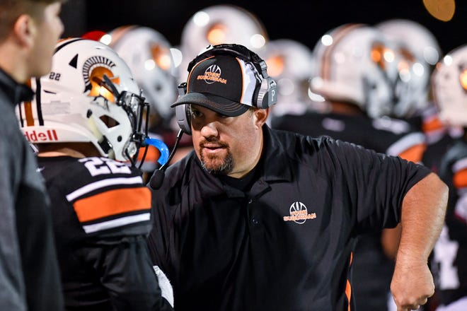 York Suburban head football coach Andy Loucks has guided the Trojans to a 5-0 start in 2019.