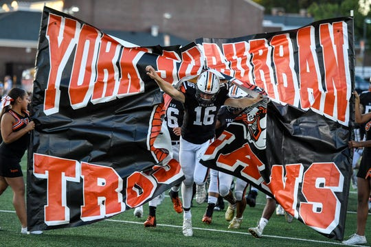 The York Suburban Trojans have sprinted to a 5-0 start on the 2019 season.