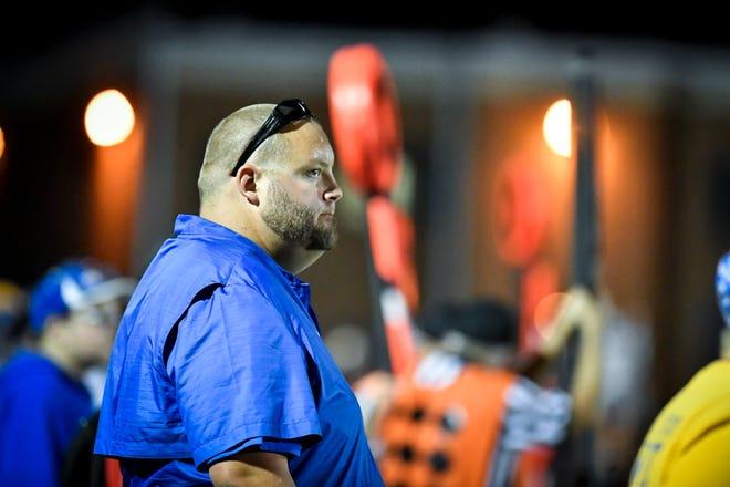 Kennard-Dale head coach Chris Grube.
