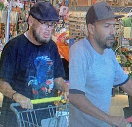 Springettsbury Township police are trying to identify these two men who they say stole $192 worth of Henieken from the Weis Markets on East Market Street near Haines Road.