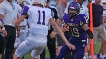 Highlights from the Irion County at Sterling City six-man football game on Friday, Sept. 20, 2019, at Eagle Field in Sterling City