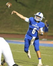 Lake View quarterback Albert Rodriguez threw two touchdowns passes in overtime, and he threw another in the final minute of regulation, in the Chiefs' 42-41 double-overtime loss to Big Spring.
