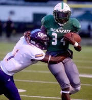 The running of Bossier's James Davis has been one of the keys to the Bearkats' 5-0 start this season.