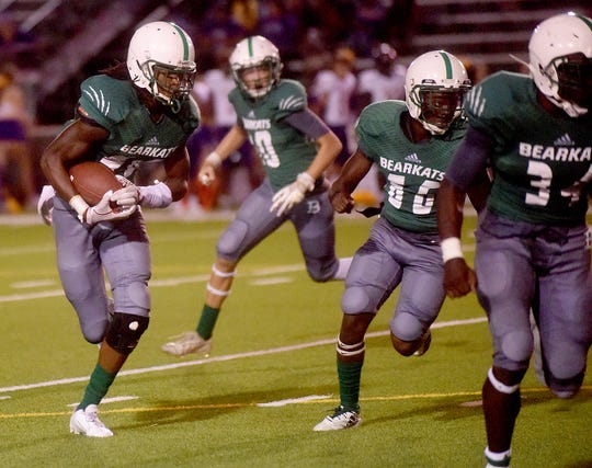 Decamerion Richardson (left) leads a potent running attack for Bossier High.