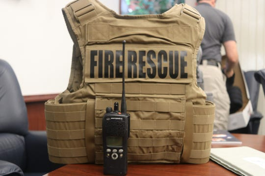 The Shreveport Fire Department has a goal to have all firefighters outfitted with protection vests or have the option to purchase their own.
