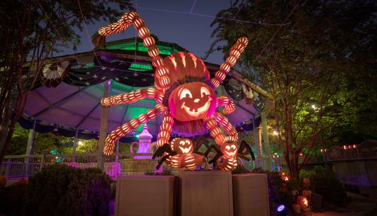 Pumpkin Nights is a new evening celebration that's part of Silver Dollar City's Harvest Festival.
