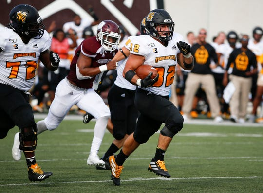 The Missouri State Bears took on the Kennesaw State Owl at Plaster Field on Saturday, Sept. 21, 2019.
