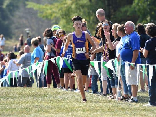 Waynesboro's Sam Sikora finished second at Saturday's Augusta County Cross Country Invitational in Fishersville.