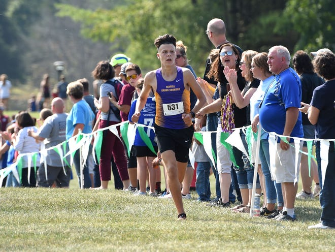 Waynesboro's Sam Sikora wasn't expecting to ever run cross country in college, but now he's headed to a Division 1 program.