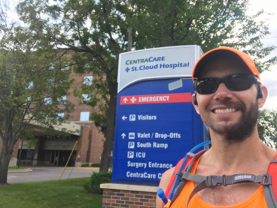 St. Cloud therapist diagnosed with MS running across the state - St. Cloud Times