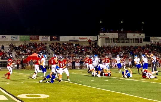 Dixie defeat Crimson Cliffs 47-13 on Friday.