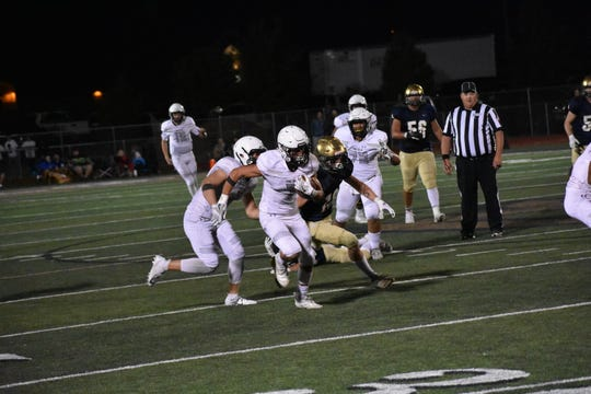 Pine View defeats Snow Canyon 45-31 on September 20, 2019.