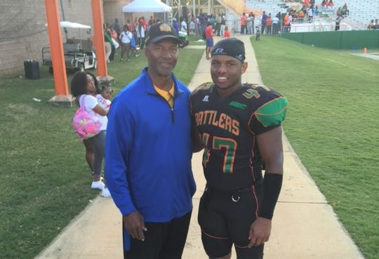 Pro Football Hall of Famer Mel Blount of the Pittsburgh Steelers played at Southern. His son Akil was a linebacker at FAMU. They have a family rivalry with the Jaguars and Rattlers.