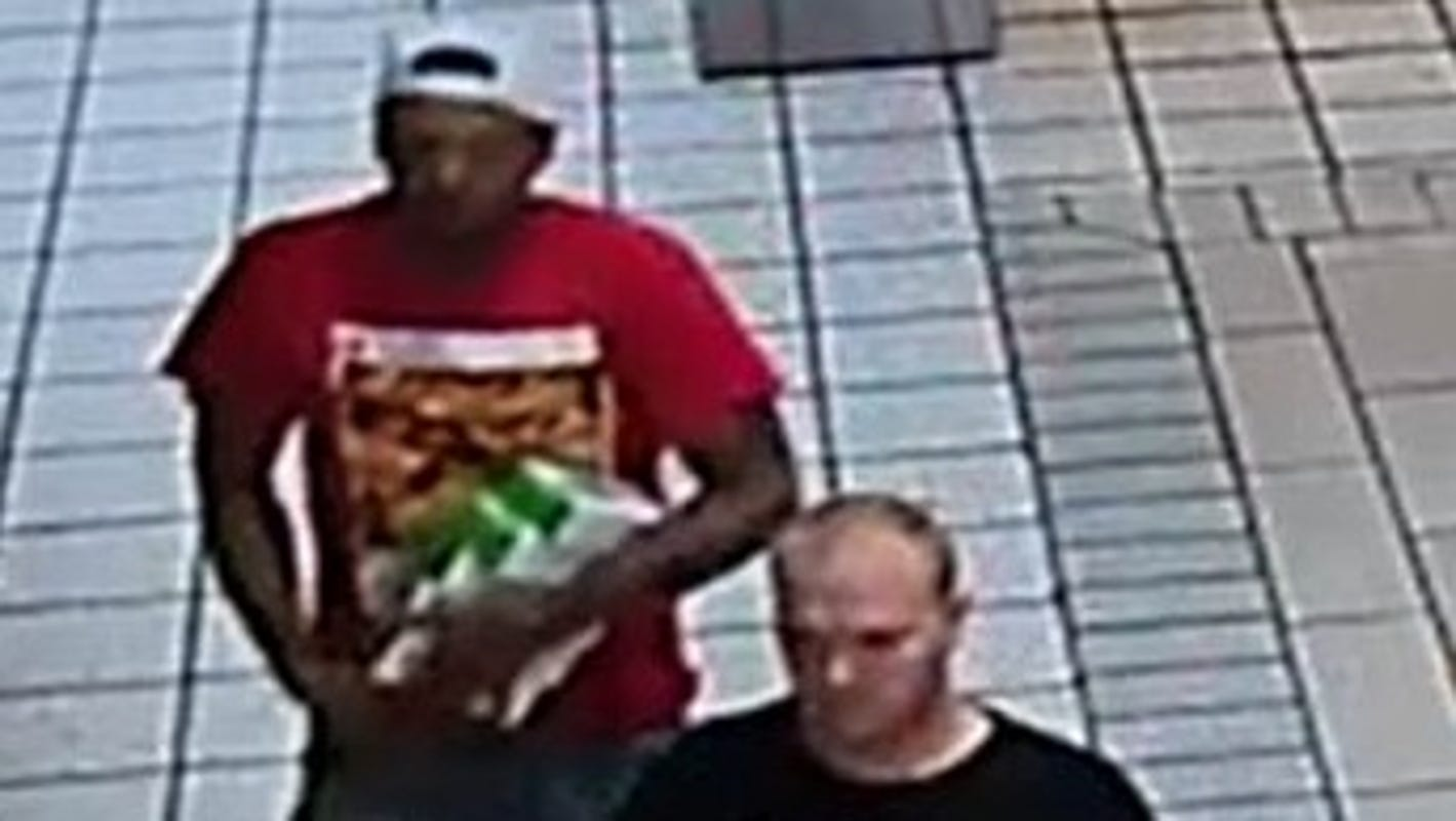 El Paso police seek 2 men in theft of 10 cellphones at Bassett Place in Crime of the Week