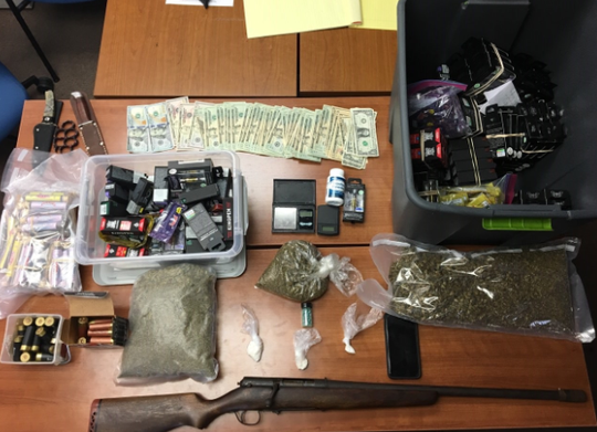 Delaware State Police arrested a brother and sister after discovery a litany of drugs and weapons.