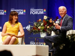 LGBTQ forum moderator says Joe Biden called her 'a real sweetheart' after tough questions