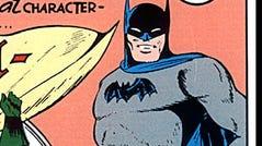1940 Batman comic cover.