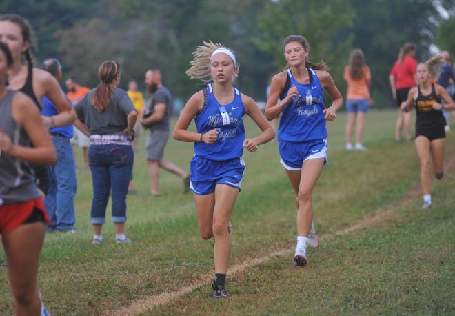Sophomore Morgan Lambert and Senior Allison Lust represent the young talent and experienced returner for the Lady Royals distance program this upcoming season.