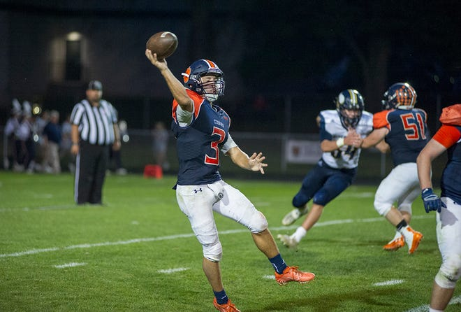Galion's Wilson Frankhouse has been a catalyst for a Tiger offense averaging 39.8 points per game this season helping the team to a 5-0 record.