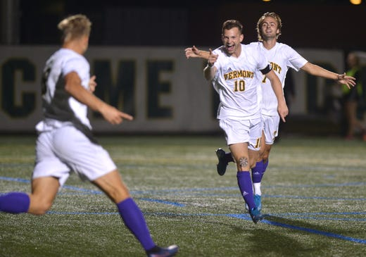 Three thoughts: UVM shuts out Merrimack 3-0 in men's soccer