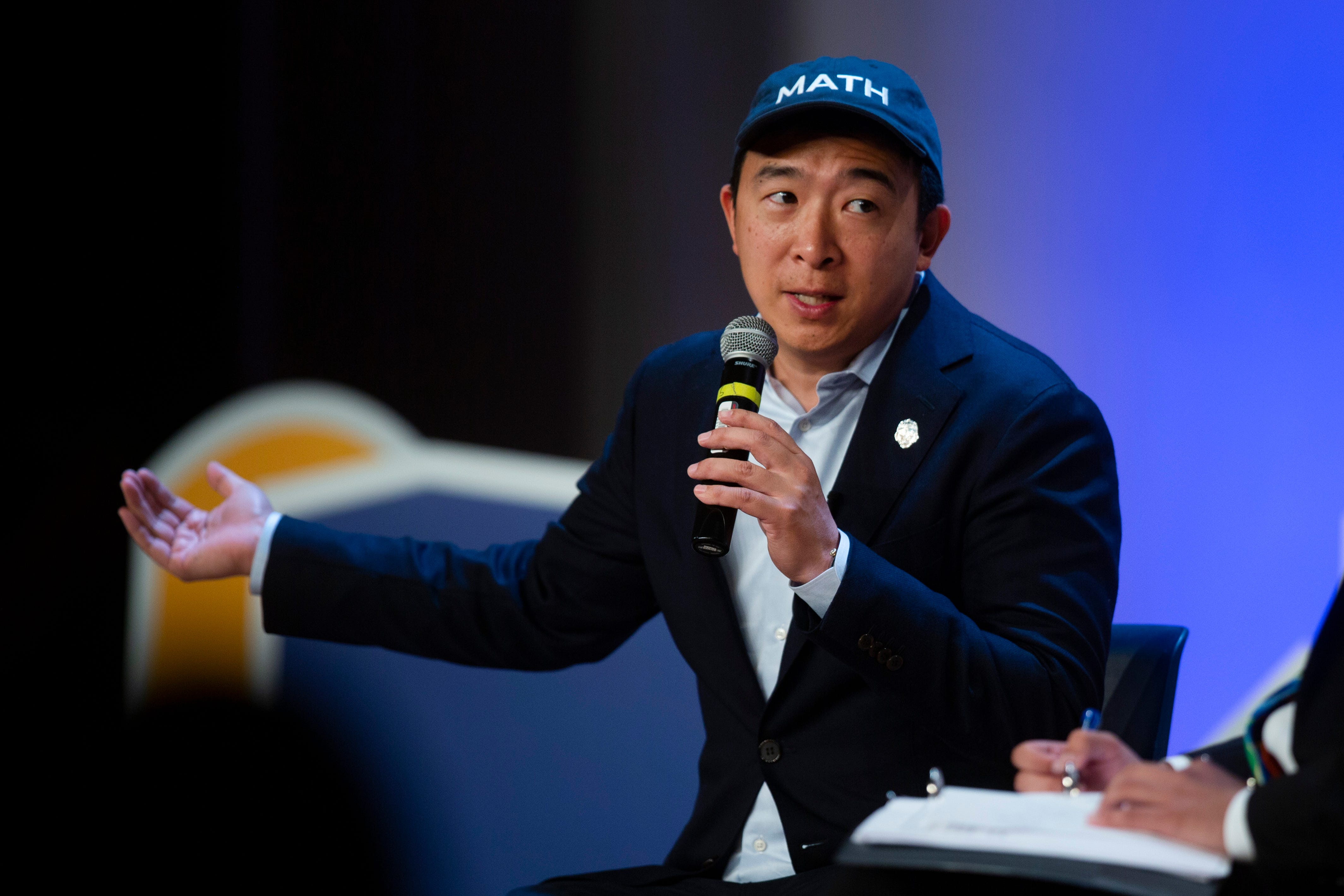 Why keep Iowa's caucuses? Andrew Yang does the math on the influence of our state