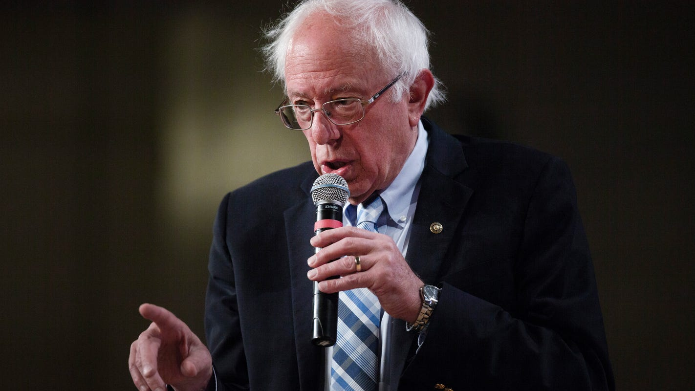 Bernie Sanders has heart procedure for artery blockage, cancels events until 'further notice'