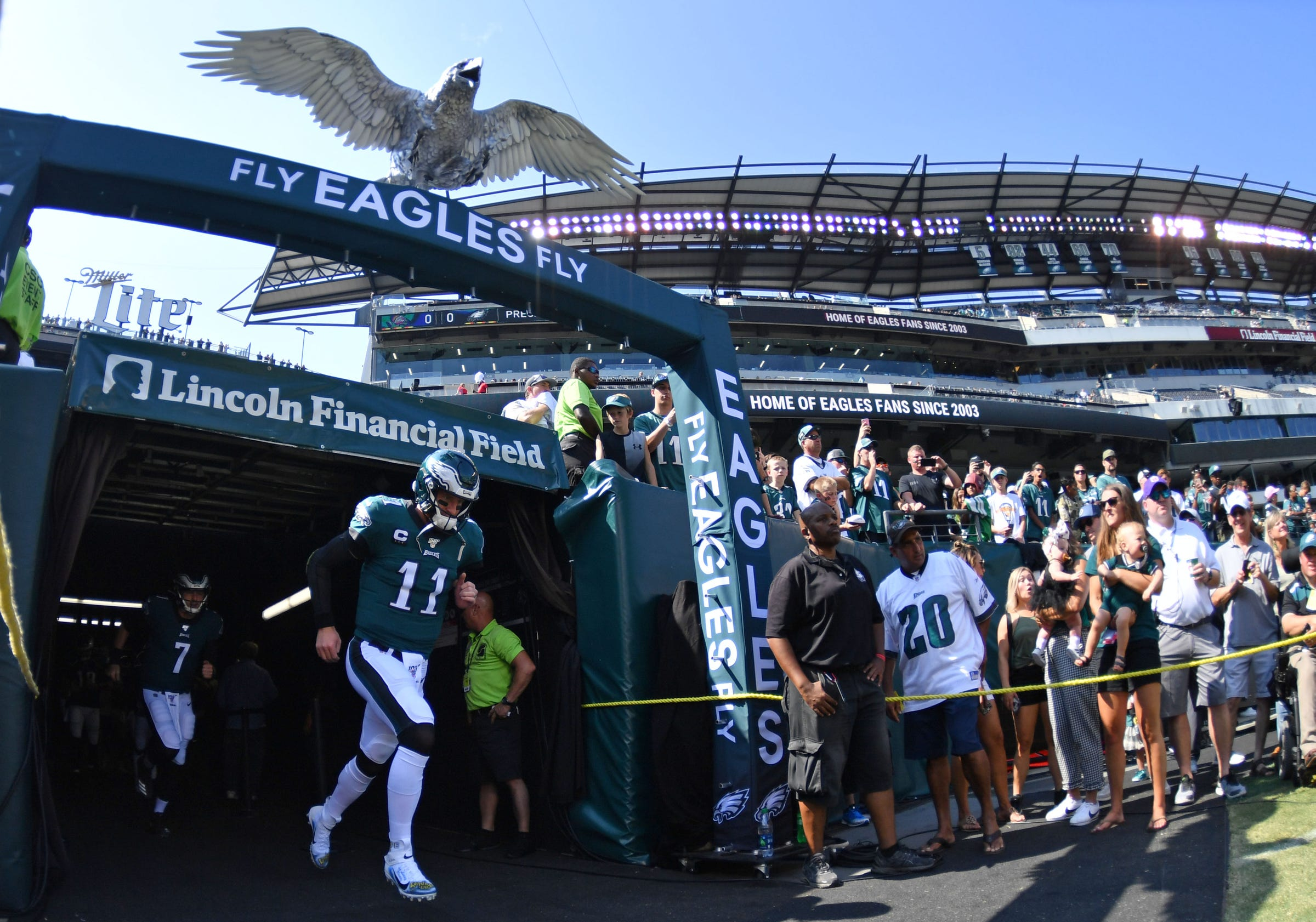 picture relating to Philadelphia Eagles Printable Schedule named Detroit Lions overcome Philadelphia Eagles 27-24: Website recap