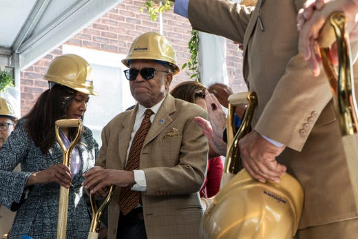 'Great moment in history': Motown Museum breaks ground on expansion in festive event