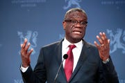 Nobel Peace Prize laureate Dr. Denis Mukwege.