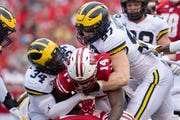 Michigan's defense allowed Wisconsin to rack up 359 rushing yards and five rushing scores on Saturday.