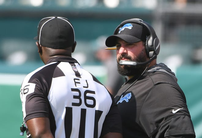 """Lions coach Matt Patricia said Sunday's game against the Chiefs is a big game only because """"it's our next game."""""""