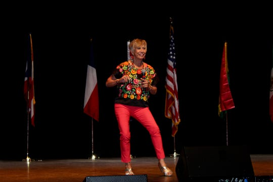 The celebration featured keynote speaker Juana Bordas who danced her way onto the stage encouraging the audience to join her in song and dance.