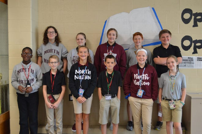 Front (Left to Right) Marquise Spann, Duncan Vaughn, Meah Risley, KiLynn Taylor, Reese Mushrush, Payton Brown  Back (Left to Right) Cora McKenzie, Emmi Wolfe, Bryce Nalley, Camron Conrad, Bryce Biever  Not Pictured:  Gaige Leslie