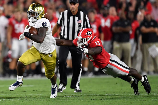 3 Reasons Notre Dame Football Lost To Georgia